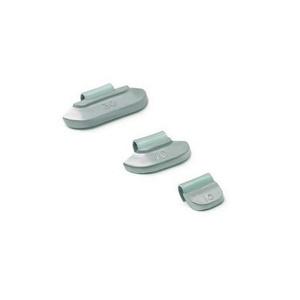 Набор грузиков для штампованных дисков со скобой  100 шт.  Clipper 0210