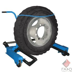 Тележка для снятия колес грузовых автомобилей П-254